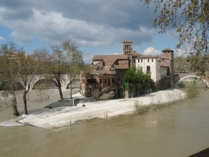Hospital on Island in the Tiber