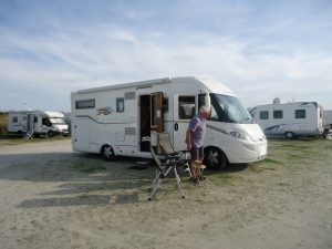 Campsite at Le Crotoy