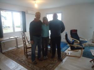 Charles, Caro and Tony