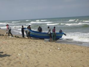 The Fisherman At Mertil