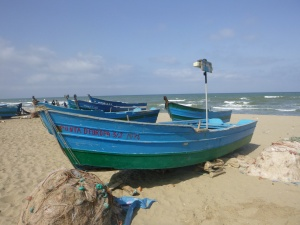 Fishing Boat at Mertil Beach