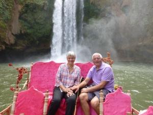 Rafting to Waterfall