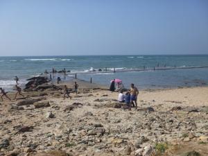 Beach at Mohammedia