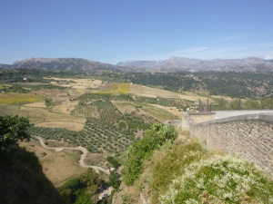 View From Top Of Ronda
